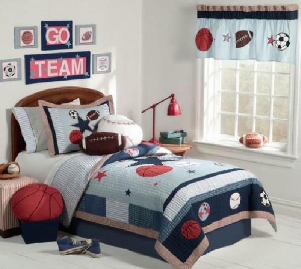 Baseball Bedroom Design Great
