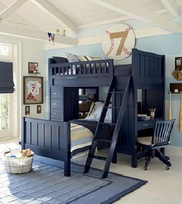 Baseball BedroomsDesign For Sport Boys
