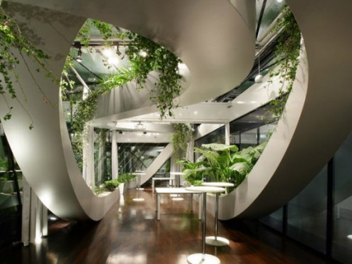 Beautifully Indoor Garden in The Chamber