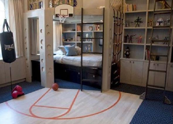 Cool Sport Teenage Boy Bedroom Design Part 44