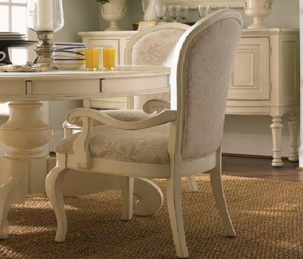 Lexington | Long Cove Summerville Arm Chair with Slipcover in Shell