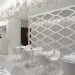 White Olivomare Restaurant by Pierluigi Piu