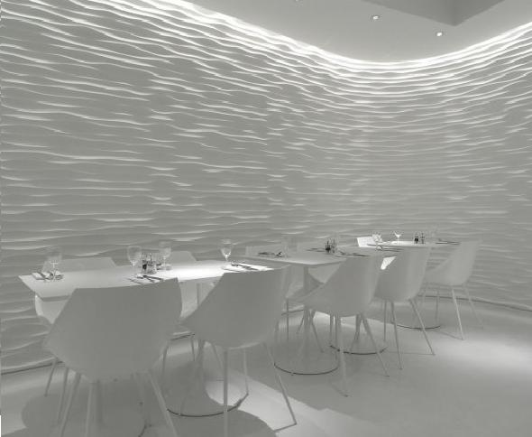 Olivomare Restaurant by Pierluigi Piu Full White