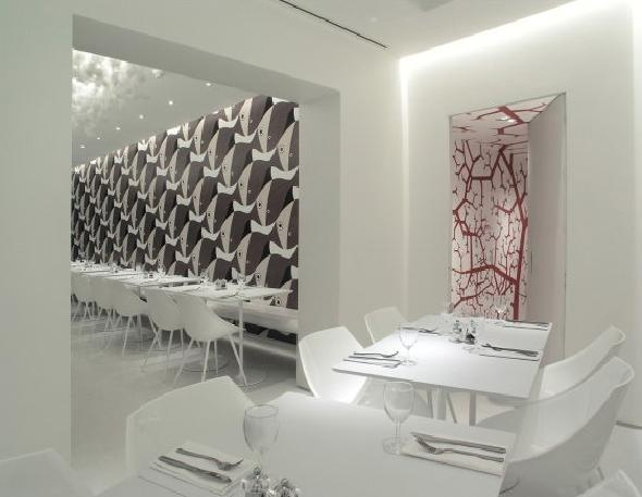 Olivomare Restaurant by Pierluigi Piu White