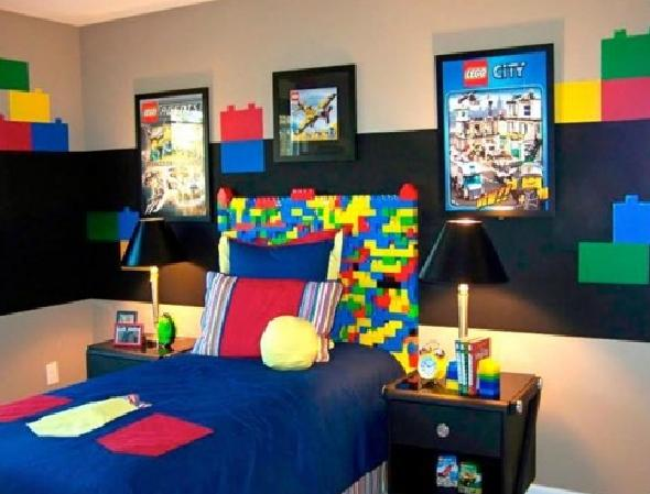 Puzzle Teenage Boy Bedroom Design