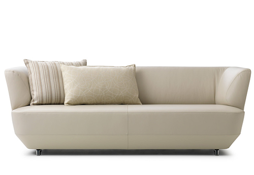 Sofa exceptionally comfortable by Leolux-cream