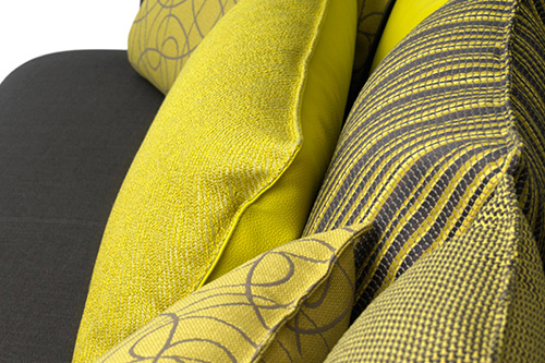 Sofa exceptionally comfortable by Leolux-pillow