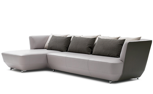 Sofa exceptionally comfortable by Leolux-soft