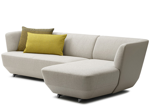 Sofa exceptionally comfortable by Leolux-white