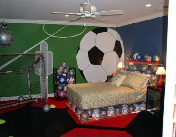 Sport Teenage Boy Bedroom Design