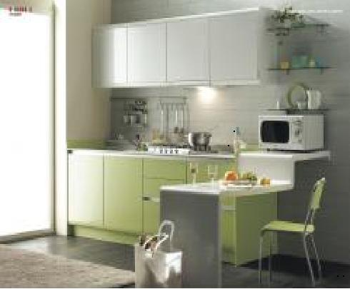 interior kitchen set with modern design