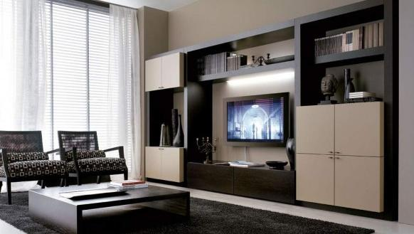 Attractive Black And White Living Room Design Ideas
