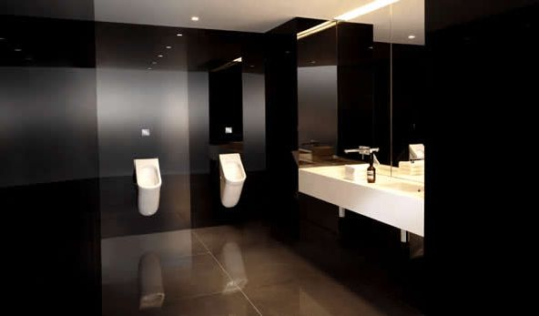 Bathroom Design Ideas Modern Ian Moore Luxury Commercial Black