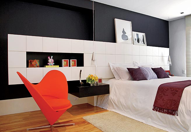 Black And White Bedroom Interiors And Room Designs