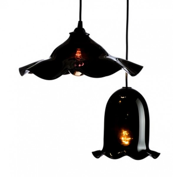Black Nouveau, Decorative Interior Lighting by Rothschild & Bickers