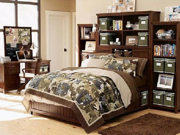 Gallery Decorating Teenage Boy Bedroom Furniture, Funky and Cool ...
