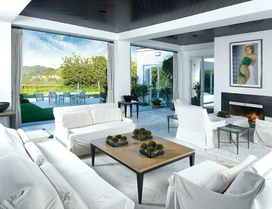 Celebrity residence in Beverly Hills House3