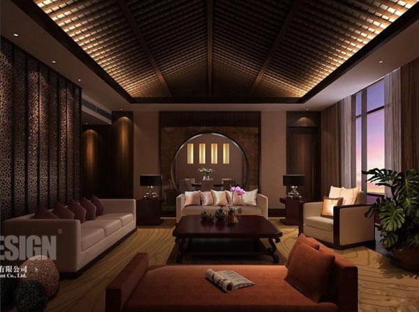 Inspirational Traditional And Chinese Interior Designs : Chinese Interior  Living Room Design Ideas Photos