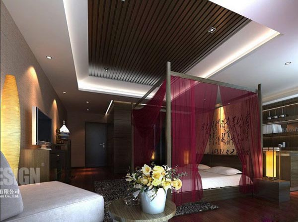 Chinese Interior Modern Asian Bedroom Design