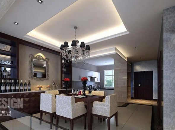 Chinese Interior Modern Asian Dining Room Ideas
