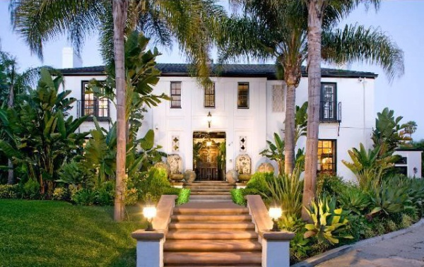 Christian Audigier Lists Hancock Park Home for $8.26 Million-exterior house