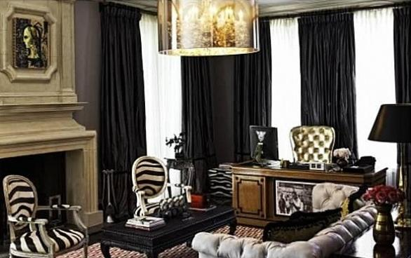 Christina Aguilera Beverly Hills Home in 513 Doheny Rd, Beverly Hills, CA 90210-Office
