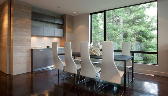 Contemporary Interior Dining Room Design By Kelly Deck