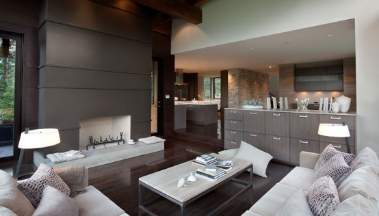 Contemporary interior Living design by Kelly Deck Image : Pictures ...
