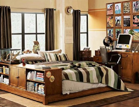 Gallery Decorating Teenage Boy Bedroom Furniture, Funky and Cool Ideas
