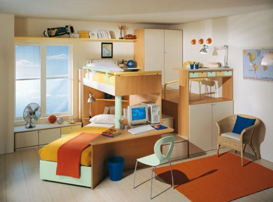 Creative Colorful Children Bedroom Designs And Bedroom Sets