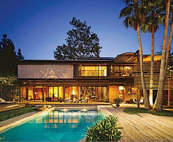 Hollywood Demi Moore home