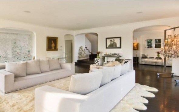 Katy Perry and Russell Brand List L.A Home-master room