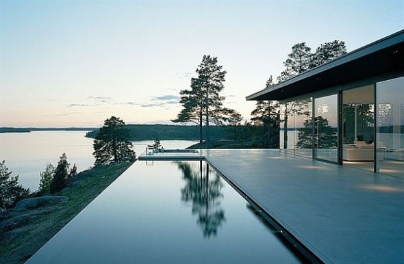 Lavish And Luxurious Swedish Villa Of Hollywood Actor James Bond stunning-swedish-house-james-bond