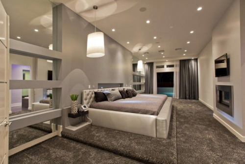 Luxury Hurtado Residence design bedroom. Luxury Home Design by Mark Tracy of Chemical Spaces