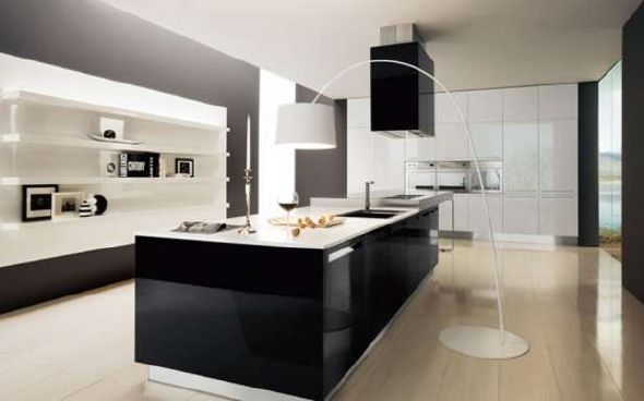 Best Kitchen Design Ideas 150 kitchen design remodeling ideas pictures of beautiful kitchens Design Ideas Modern Black And White Kitchen
