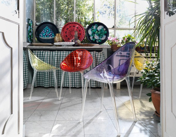 Modern Colorful chair Design by Kartell Designer