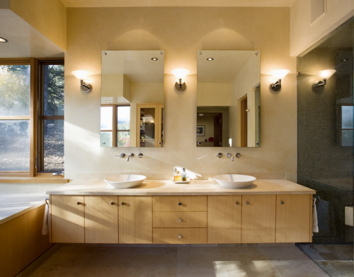 New Contemporary Bathroom Design in New Mexico