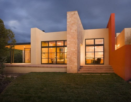 New Contemporary Home Design in New Mexico