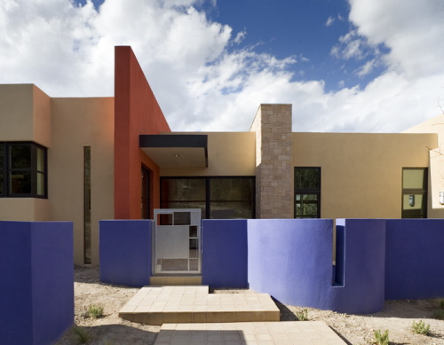 New Contemporary Home Design in New Mexico view