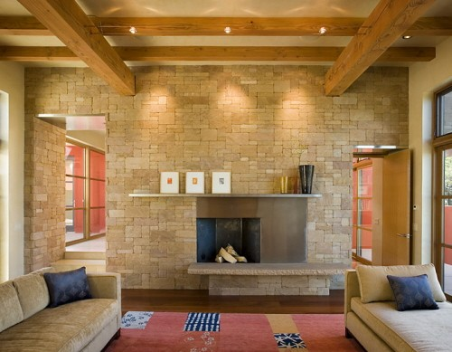 New Contemporary Living Design in New Mexico