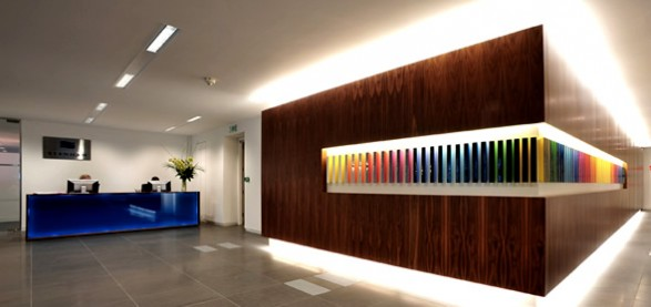 Office Interior Design Stenham Reception