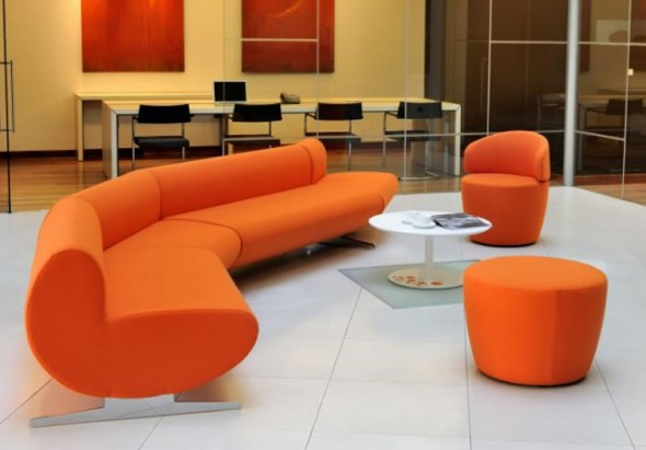 Office Reception Furniture Design O Val David Fox Interior Decorating