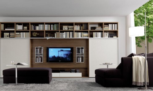Regolo Stylish And Lavish Enclosed Wall Unit
