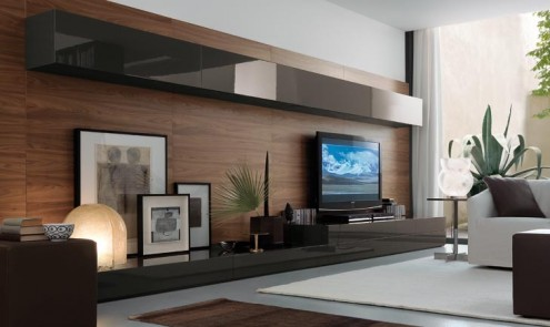 Regolo Stylish And Lavish Extended Wall Unit