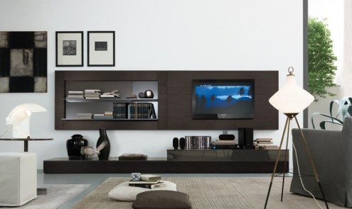Regolo Stylish And Lavish Wall Unit