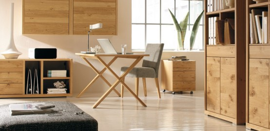 Smart And Stylish Wooden Dining Room Furniture And Interiors modern-livingroom-bedroom-study-furniture-81