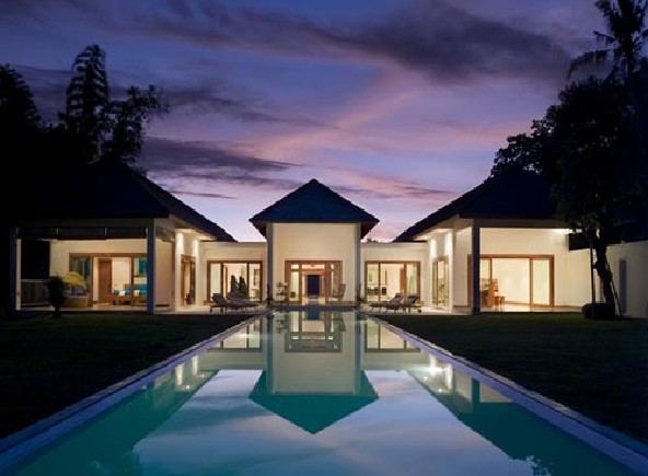 Spectacular architecture and class of Villa in Bali Indo