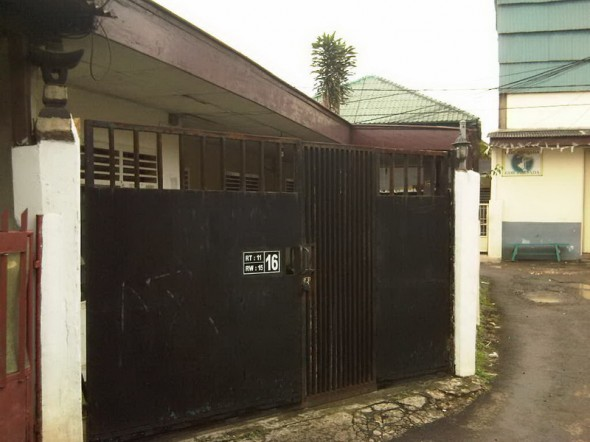 The house in Menteng Dalam Ever Occupied by Barack Obama