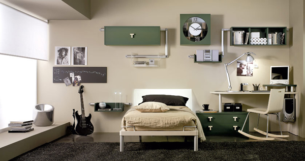 bedroom ideas minimalis boys