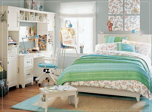 Teen Bedroom Makeover Interior Design Decorating for Girl Home